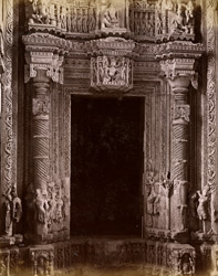 Inner doorway of Sas-Bahu Temple, Gwalior Fort